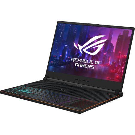 Laptop ASUS ROG Zephyrus S GX531GXR-AZ065T, Intel Core i7-9750H, 15.6inch, RAM 16GB, SSD 1TB, nVidia GeForce RTX 2080 8GB, Windows 10, Black 4