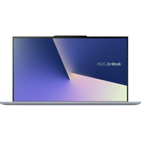 """Laptop ultraportabil ASUS UX392FA-AB002R cu procesor Intel® Core™ i7-8565U pana la 4.6 Ghz, 13.9"""", Full HD, 16GB, 512GB SSD M.2, Intel UHD Graphics 620, Windows 10 Pro, Utopia Blue 1"""