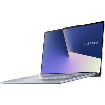 """Laptop ultraportabil ASUS UX392FA-AB002R cu procesor Intel® Core™ i7-8565U pana la 4.6 Ghz, 13.9"""", Full HD, 16GB, 512GB SSD M.2, Intel UHD Graphics 620, Windows 10 Pro, Utopia Blue 13"""