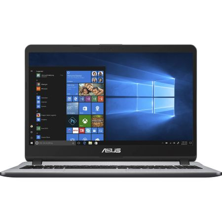 "Laptop ASUS X507UA-EJ782R cu procesor Intel® Core™ i5-8250U pana la 3.40 GHz, Kaby Lake R, 15.6"", Full HD, 8GB, 256GB SSD, Intel® UHD Graphics 620, Microsoft Windows 10 Pro, Grey 0"