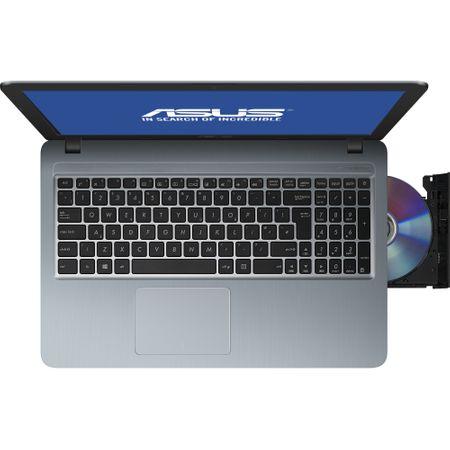 "Laptop ASUS X540MA cu procesor Intel® Celeron® N4000 pana la 2.6 GHz, 15.6"", Full HD, 4GB, 500GB HDD, Intel UHD Graphics 600, Endless OS, Silver Gradient (X540MA-GO358) 3"