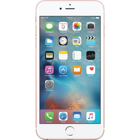 Telefon mobil Apple iPhone 6S, 16GB, Rose Gold (mkqm2rm/a) 1