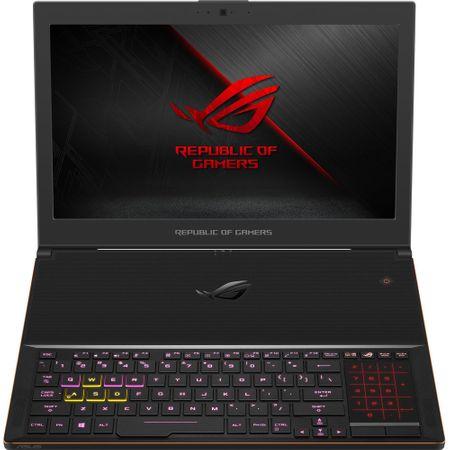 "Laptop Gaming ASUS ROG New ZEPHYRUS GX501GI-EI006T cu procesor Intel® Core™ i7-8750H pana la 4.10 GHz, Coffee Lake, 15.6"", Full HD, 144Hz, 3ms G-Sync, 24GB, 512GB SSD, NVIDIA GeForce GTX 1080 8GB Max-Q, Microsoft Windows 10, Black 9"
