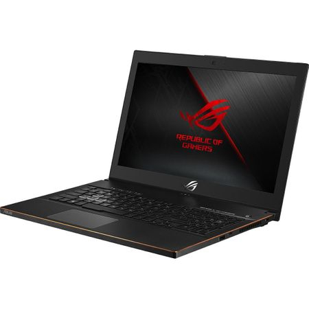 "Laptop Gaming ASUS ROG New ZEPHYRUS M GM501GS-EI003R cu procesor Intel® Core™ i7-8750H pana la 4.10 GHz, Coffee Lake, 15.6"", Full HD, IPS, 144Hz, 16GB, 1TB + 256GB SSD, NVIDIA GeForce GTX 1070 8GB, Microsoft Windows 10 Pro, Black 11"