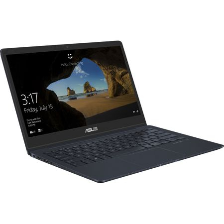 "Laptop ultraportabil ASUS ZenBook 13 UX331FAL-EG006T cu procesor Intel® Core™ i5-8265U pana la 3.90 GHz, Whiskey Lake, 13.3"", Full HD, 8GB, 256GB SSD, Intel® UHD Graphics 620, Microsoft Windows 10, Deep Dive Blue 12"