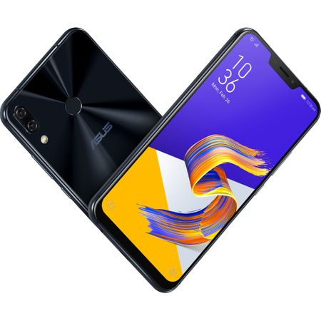 Telefon mobil Asus ZenFone 5Z ZS620KL, Dual SIM, 256GB, 8GB RAM,4G, Midnight Blue