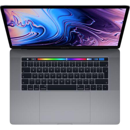 Laptop Apple MacBook Pro 15 (mv902ze/a) ecran Retina, Touch Bar, procesor Intel® Core™ i7 2.60 GHz, 16GB, 256GB SSD, Radeon Pro 555X W 4GB, macOS Mojave, INT KB, Space Grey 1