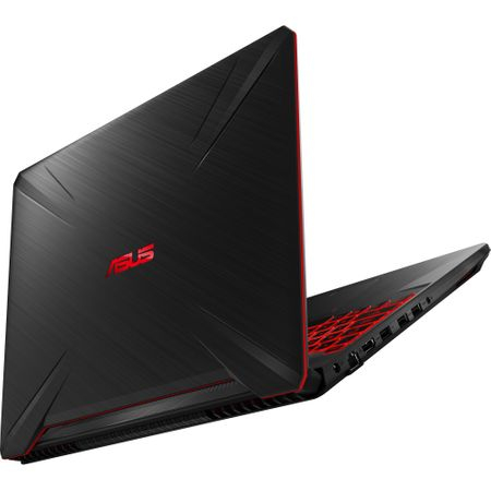 "Laptop Gaming ASUS TUF FX505GD-BQ125 cu procesor Intel® Core™ i7-8750H pana la 4.10 GHz, Coffee Lake, 15.6"", Full HD, IPS, 8GB, 1TB Hybrid FireCuda, NVIDIA GeForce GTX 1050 4GB, Free DOS, Black 6"