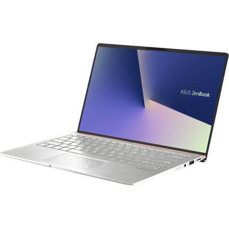 "Ultrabook ASUS ZenBook 13 UX333FN-A3034T cu procesor Intel® Core™ i7-8565U pana la 4.60 GHz, Whiskey Lake, 13.3"", Full HD, 8GB, 256GB SSD, NVIDIA GeForce MX150 2GB, Microsoft Windows 10, Icicle Silver"