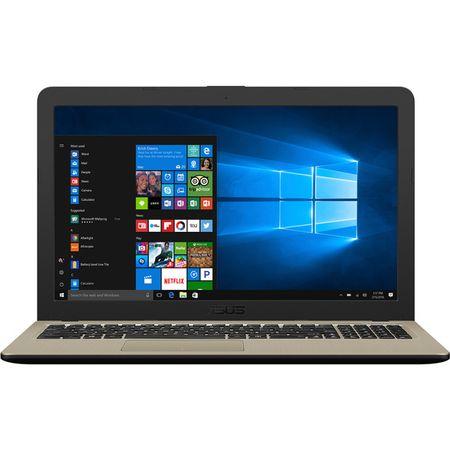 "Laptop ASUS X540UB-DM717T cu procesor Intel® Core™ i3-7020U 2.30 GHz, Kaby Lake, 15.6"", Full HD, 4GB, 1TB, DVD-RW, NVIDIA GeForce MX110 2GB, Endless OS, Chocolate Black 0"