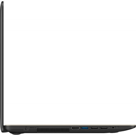 "Laptop ASUS X540MA-GO360 cu procesor Intel® Celeron® N4000 pana la 2.60 GHz, 15.6"", 4GB, 256GB SSD, DVD-RW, Intel® UHD Graphics 600, Endless OS, Chocolate Black 9"