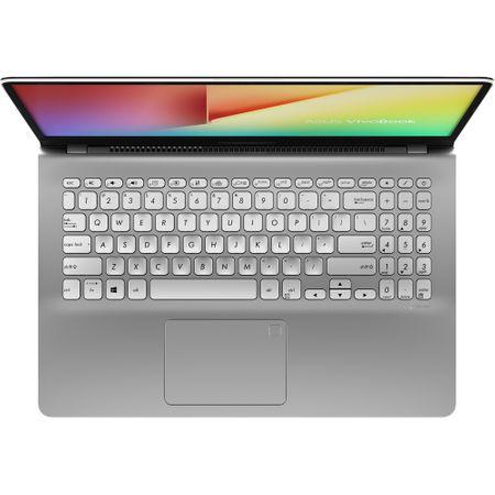 "Lapto ASUS VivoBook S15 S530UA-BQ211 cu procesor Intel® Core™ i7-8550U pana la 4.00 GHz, Kaby Lake R, 15.6"", Full HD, 8GB, 256GB SSD, Intel® UHD Graphics 620, Free DOS, Gun Metal 11"