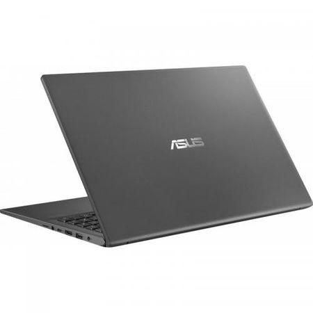 "Laptop ASUS VivoBook 15 X512FA-EJ1018, 15.6"" FHD, Intel Core i5-8265U (6M Cache, up to 3.90 GHz), Intel UHD Graphics 620, 8GB DDR4, SSD 512GB M.2 NVME, NO ODD, Slate Gray, FARA OS 3"