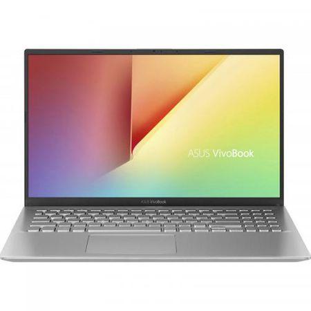 "Laptop ASUS VivoBook 15 X512FA-EJ1038, 15.6"" FHD, Intel Core i5-8265U (6M Cache, up to 3.90 GHz), Intel UHD Graphics 620, 8GB DDR4 2400Mhz (4 onboard+ 4 SODIMM), SSD 512GB M.2 NVME + slot liber SATA3, NO ODD, Silver, FARA OS 0"