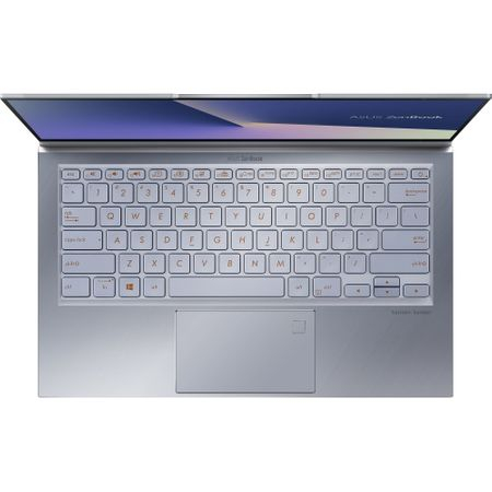 """Laptop ultraportabil ASUS UX392FA-AB002R cu procesor Intel® Core™ i7-8565U pana la 4.6 Ghz, 13.9"""", Full HD, 16GB, 512GB SSD M.2, Intel UHD Graphics 620, Windows 10 Pro, Utopia Blue 16"""