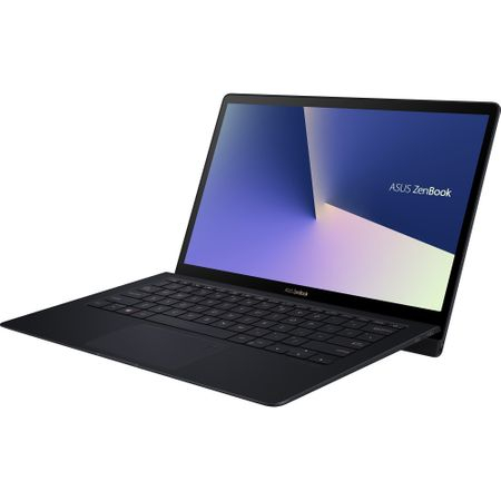 "Laptop ASUS ZenBook S UX391FA-AH010R cu procesor Intel® Core™ i7-8565U pana la 4.60 GHz, Whiskey Lake, 13.3"", Full HD, 16GB, 512GB SSD, Intel® UHD Graphics 620, Microsoft Windows 10 Pro, Deep Dive Blue 9"