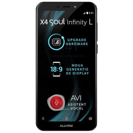 Telefon mobil Allview X4 Soul Infinity L, Dual SIM, 16GB, 4G, Night Sky (X4SOUL INFnsL) 0