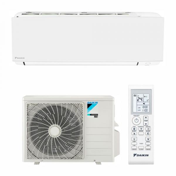 Aparat de aer conditionat Daikin Sensira Bluevolution FTXC25B-RXC25B Inverter 9000 BTU, Clasa A++, Programator 24 de ore, Filtru fotocatalictic, Mod confort 0