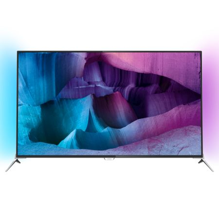 Televizor LED Smart Android 3D Philips, 123 cm, 49PUS7100/12, 4K Ultra HD  (49PUS7100/12)