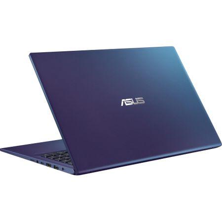 "Laptop ASUS X512FA-EJ991 cu procesor Intel® Core™ i3-8145U pana la 3.9 GHz, 15.6"", Full HD, 4GB, 256GB SSD M.2, Intel UHD Graphics 620, Free DOS, PEACOCK BLUE 7"