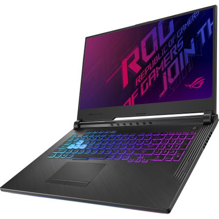 "Laptop Gaming ASUS ROG G731GT-AU004 cu procesor Intel® Core™ i7-9750H pana la 4.50 GHz, Coffee Lake, 17.3"", Full HD IPS, 8GB, 512GB SSD M.2, NVIDIA GeForce GTX 1650 4GB, Free DOS, Black 6"