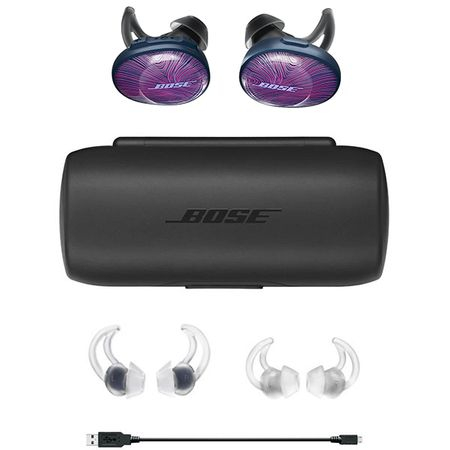 Casti Wireless Bose Soundsport Free BT-12128, Ultraviolet-Navy 0