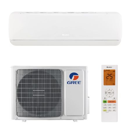 Aparat de aer conditionat Gree G-tech GWH12AEC-K6DNA1A Inverter 12000 BTU, Clasa A+++, Inverter, Extra performanta, generator Cold Plasma, filtru I Feel, Buton Turbo, Auto-diagnoza, Wi-FI, Display LED 5