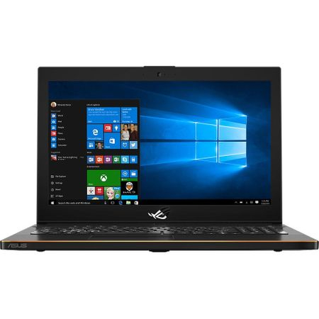 "Laptop Gaming ASUS ROG New ZEPHYRUS M GM501GS-EI003R cu procesor Intel® Core™ i7-8750H pana la 4.10 GHz, Coffee Lake, 15.6"", Full HD, IPS, 144Hz, 16GB, 1TB + 256GB SSD, NVIDIA GeForce GTX 1070 8GB, Microsoft Windows 10 Pro, Black 0"
