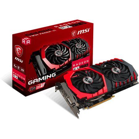 Placa video MSI Radeon RX 570 GAMING, 4GB GDDR5, 256 biti