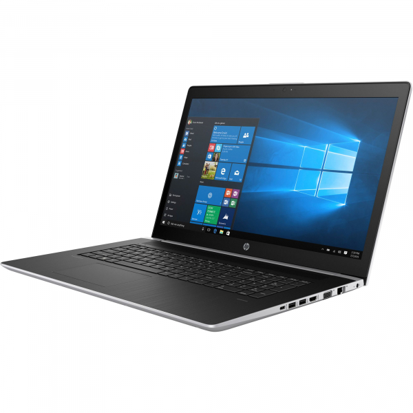 "Laptop HP ProBook 470 G5 cu procesor Intel® Core™ i5-8250U pana la 3.40 GHz, Kaby Lake R, 17.3"", Full HD, 8GB, 1TB, NVIDIA GeForce 930MX 2GB, FPR, Microsoft Windows 10 Pro, Silver, 2RR89EA 2"