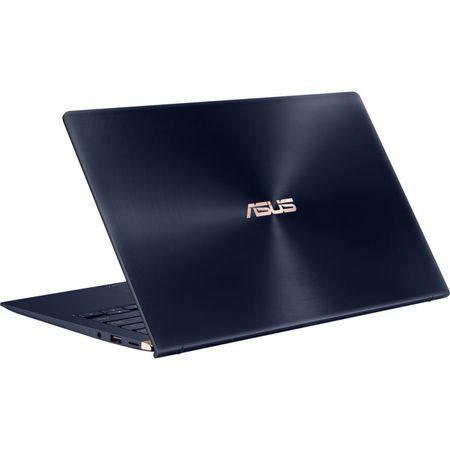 "Laptop ultraportabil ASUS ZenBook 14 UX433FA-A5046R cu procesor Intel® Core™ i5-8265U pana la 3.90 GHz, Whiskey Lake, 14"", Full HD, 8GB, 256GB SSD, Intel® UHD Graphics 620, Microsoft Windows 10 Pro, Royal Blue 9"