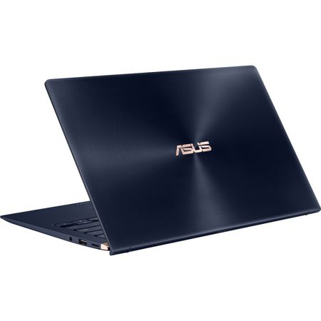 "Laptop ultraportabil ASUS ZenBook UX433FA-A5289R cu procesor Intel® Core™ i5-8265U pana la 3.9 GHz, 14"", Full HD, 8GB, 256GB SSD M.2, Intel UHD Graphics 620, Windows 10 Pro, Royal Blue Metal 8"