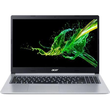 "Laptop Acer Aspire 5 A515-54G-59JE cu procesor Intel® Core™ i5-8265U pana la 3.90 GHz, 15.6"", Full HD, 8GB, 1TB HDD, NVIDIA® GeForce® MX250 2GB, Endless OS, Silver (NX.HFQEX.004) 0"