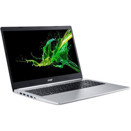 "Laptop Acer Aspire 5 A515-54G-59JE cu procesor Intel® Core™ i5-8265U pana la 3.90 GHz, 15.6"", Full HD, 8GB, 1TB HDD, NVIDIA® GeForce® MX250 2GB, Endless OS, Silver (NX.HFQEX.004) 1"
