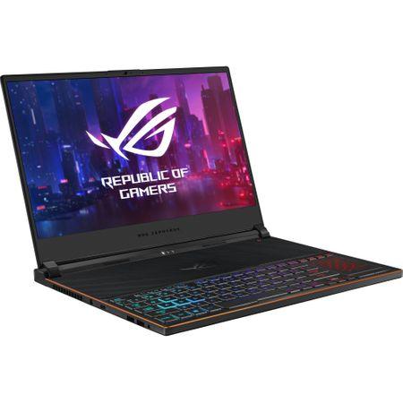 Laptop ASUS ROG Zephyrus S GX531GXR-AZ065T, Intel Core i7-9750H, 15.6inch, RAM 16GB, SSD 1TB, nVidia GeForce RTX 2080 8GB, Windows 10, Black 5