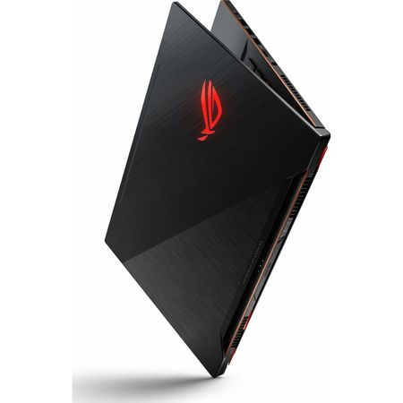 "Laptop Gaming ASUS ROG New ZEPHYRUS M GM501GS-EI003R cu procesor Intel® Core™ i7-8750H pana la 4.10 GHz, Coffee Lake, 15.6"", Full HD, IPS, 144Hz, 16GB, 1TB + 256GB SSD, NVIDIA GeForce GTX 1070 8GB, Microsoft Windows 10 Pro, Black 14"