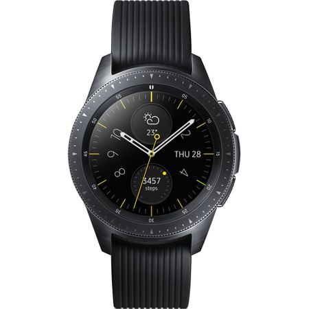 Ceas smartwatch Samsung Galaxy Watch, 42mm, Midnight Black (SM-R810NZKAXEO) 0
