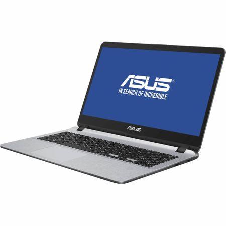 "Laptop ASUS X507UA-EJ1096 cu procesor Intel® Core™ i3-8130U pana la 3.40 GHz, Kaby Lake, 15.6"", Full HD, 4GB, 256GB SSD, Intel® UHD Graphics 620, Endless OS, Star Grey 7"