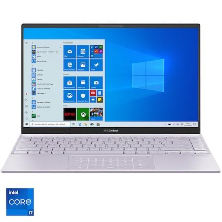 "Laptop ultraportabil ASUS ZenBook 13 OLED  UX325EA-KG348T cu procesor Intel® Core™ i7-1165G7 pana la 4.70 GHz, 13.3"", Full HD, 16GB, 512GB SSD, Intel Iris Xᵉ Graphics, Windows 10 Home, Lilac Mist [0]"