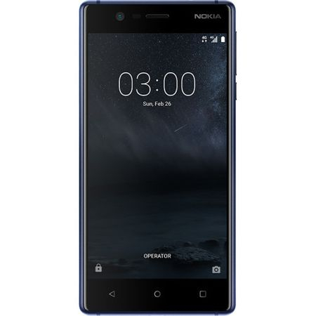 Telefon mobil Nokia 3, Dual SIM, 16GB, Tempered Blue 1