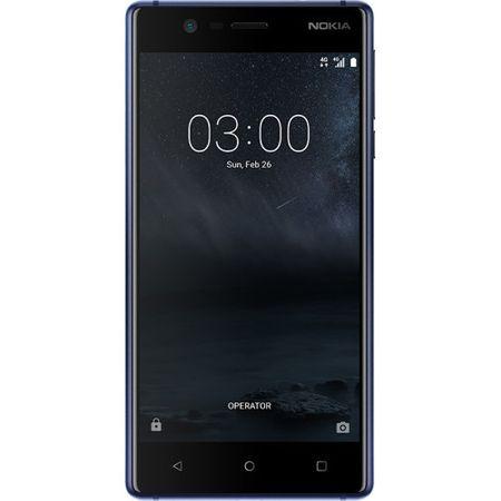 Telefon mobil Nokia 3, Dual SIM, 16GB, Tempered Blue