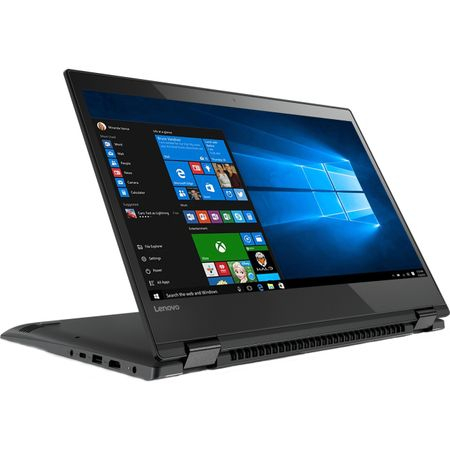 "Laptop 2 in 1 Lenovo Yoga 520-14IKB cu procesor Intel® Core™ i3-7130U 2.70 GHz, Kaby Lake, 14"", Full HD, IPS, Touch, 8GB, 1TB + 128GB SSD, Intel HD Graphics 620, Microsoft Windows 10, ONYX Black 6"