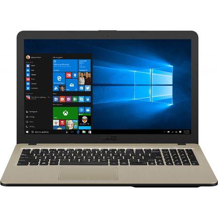 "Laptop ASUS X540UB-DM717T cu procesor Intel® Core™ i3-7020U 2.30 GHz, Kaby Lake, 15.6"", Full HD, 4GB, 1TB, DVD-RW, NVIDIA GeForce MX110 2GB, Endless OS, Chocolate Black 1"