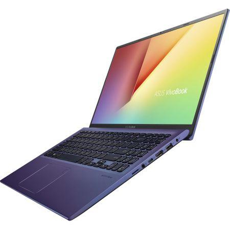 "Laptop ASUS X512FA-EJ991 cu procesor Intel® Core™ i3-8145U pana la 3.9 GHz, 15.6"", Full HD, 4GB, 256GB SSD M.2, Intel UHD Graphics 620, Free DOS, PEACOCK BLUE 8"