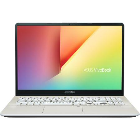 "Laptop ASUS VivoBook S15 S530UA-BQ057 cu procesor Intel® Core™ i5-8250U pana la 3.40 GHz, Kaby Lake R, 15.6"", Full HD, 8GB, 256GB SSD, Intel® UHD Graphics 620, Free DOS, Gold 0"