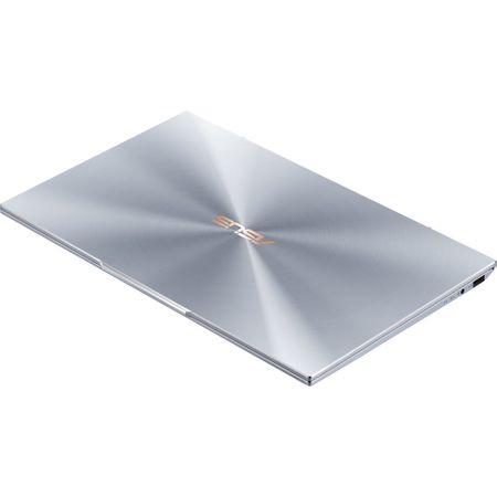 """Laptop ultraportabil ASUS UX392FA-AB002R cu procesor Intel® Core™ i7-8565U pana la 4.6 Ghz, 13.9"""", Full HD, 16GB, 512GB SSD M.2, Intel UHD Graphics 620, Windows 10 Pro, Utopia Blue 19"""