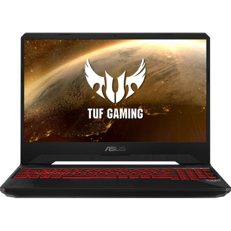 "Laptop Gaming ASUS TUF FX505GD-BQ125 cu procesor Intel® Core™ i7-8750H pana la 4.10 GHz, Coffee Lake, 15.6"", Full HD, IPS, 8GB, 1TB Hybrid FireCuda, NVIDIA GeForce GTX 1050 4GB, Free DOS, Black 0"