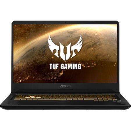 "Laptop Gaming ASUS TUF FX705GE-EW084cu procesor Intel® Core™ i7-8750H pana la 4.10 GHz, Coffee Lake, 17.3"", Full HD, 8GB, 1TB Hybrid FireCuda, NVIDIA GeForce GTX 1050 Ti 4GB, Free DOS, Gun Metal 0"