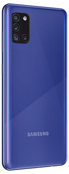 Telefon mobil Samsung Galaxy A31 (A315FD), Dual SIM, 128GB, 4GB RAM, 4G, Blue, A315GZBUEUE 2