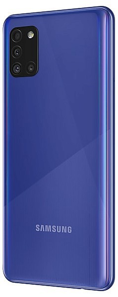 Telefon mobil Samsung Galaxy A31 (A315FD), Dual SIM, 128GB, 4GB RAM, 4G, Blue, A315GZBUEUE 3